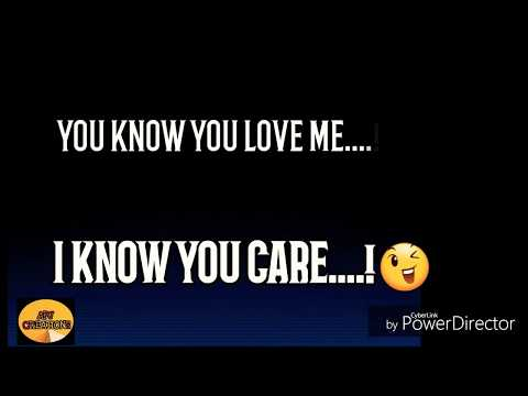 💖You Know You Love Me Lyrics Video Song | WhatsApp Status Video | English Songs