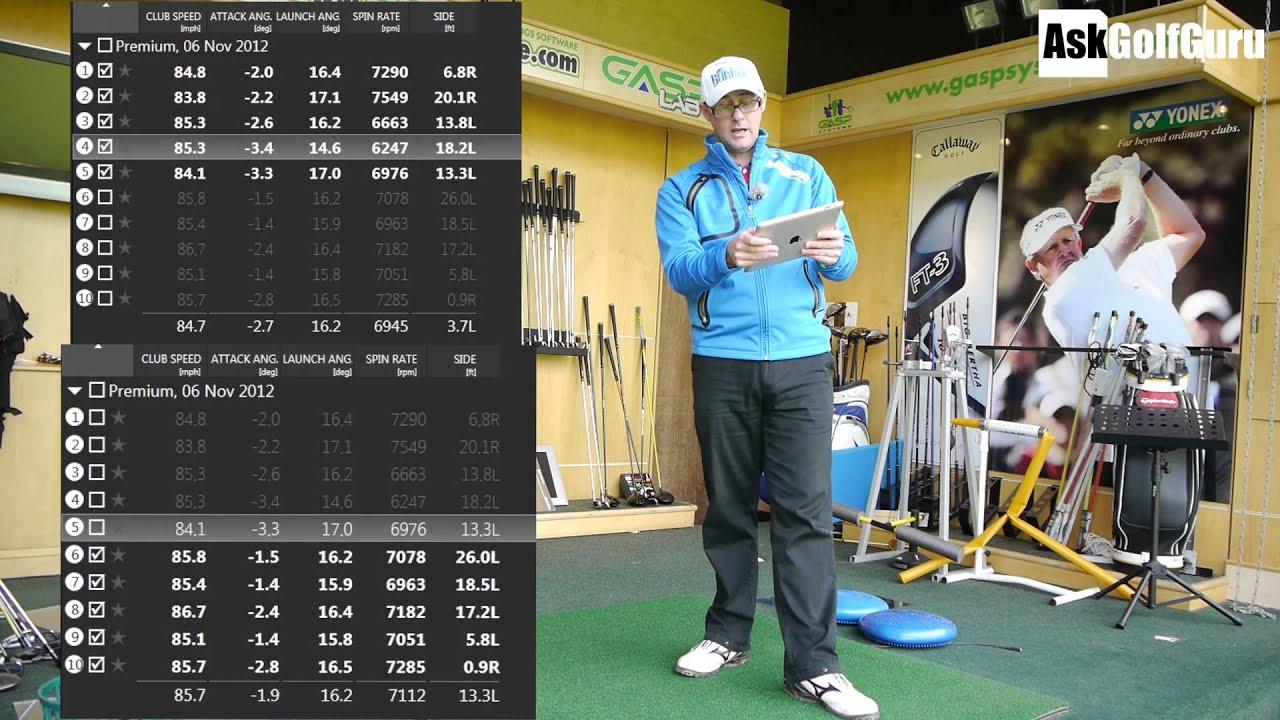 Golf Shafts Flex Lesson 3 AskGolfGuru - YouTube