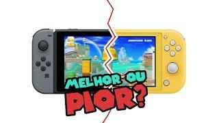 Nintendo Switch x Nintendo Switch Lite quais as diferenças?
