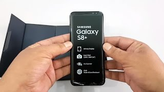 Samsung Galaxy S8 Plus Unboxing, Midnight Black | Pakistani Unit | [Urdu/Hindi]