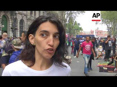 Thousands mark 19th annual Marijuana March in Argentina
