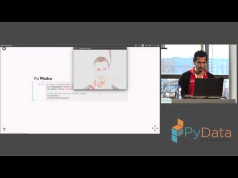 Rodrigo Agundez - Building a live face recognition system in the blink of a very slow eye
