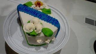 украшение торта на выпускной