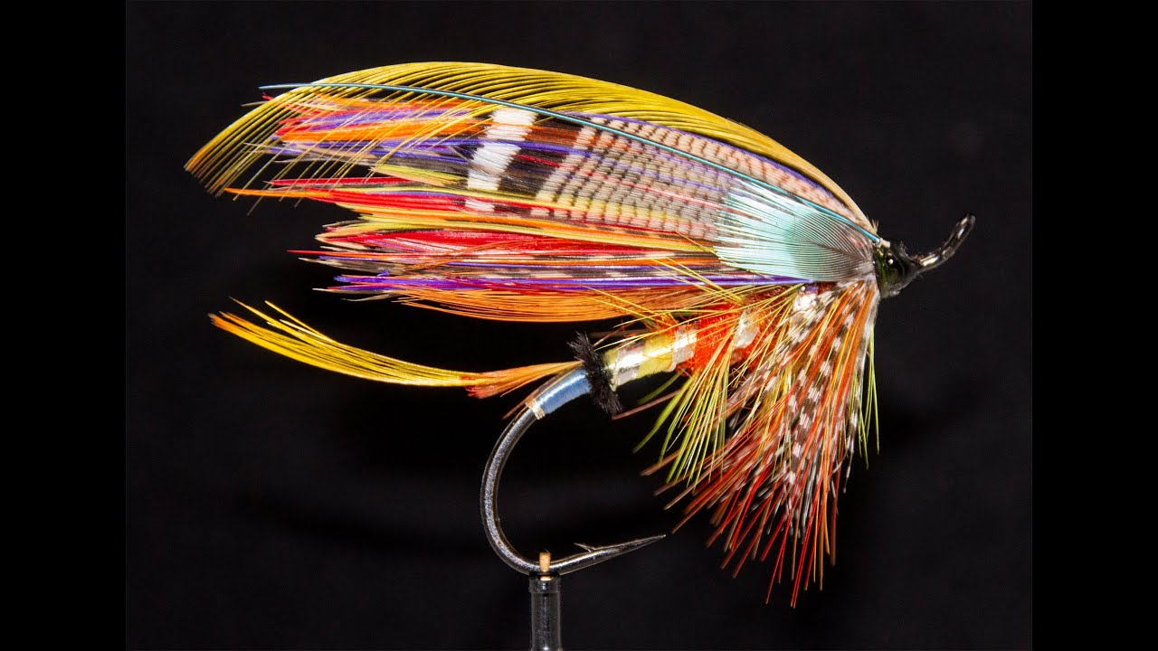 Salmon fly fishing fly