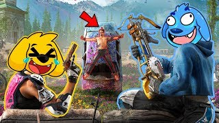 ¡MOMENTOS DIVERTIDOS EN FAR CRY NEW DAWN 😂 FLEX Y MIKECRACK 🔴 EN DIRECTO