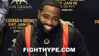 MEDIA FAWN OVER ADRIEN BRONER'S COMEDY ACT; CRACK UP AT RESPONSE TO 50 CENT