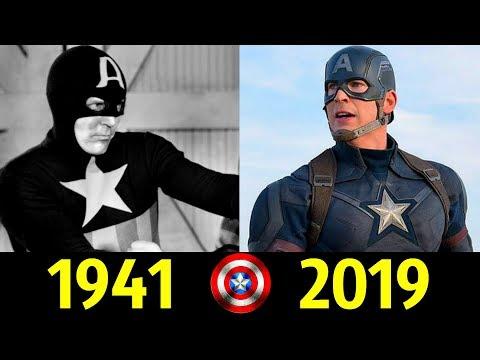 Мультфильм капитан америка 1966