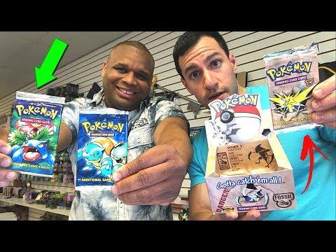 MY RETURN TO RARE VINTAGE POKEMON CARDS HEAVEN! ($1600 Pokemon Box Opened!)