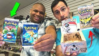 OPENING RARE CARDS AT VINTAGE POKEMON CARDS HEAVEN! ($1600 Pokemon Box Opened!)