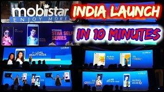 Mobiistar India Lanzamiento en 10 minutos - XQ Doble y CQ móvil