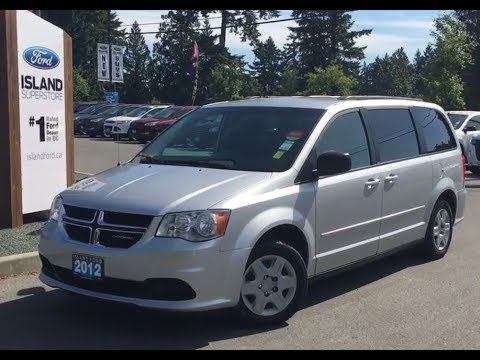 2012 Dodge Grand Caravan SE W Stow N Go Seats Accident Free Review Island Ford