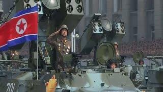 У Північній Кореї пройшов парад військової техніки