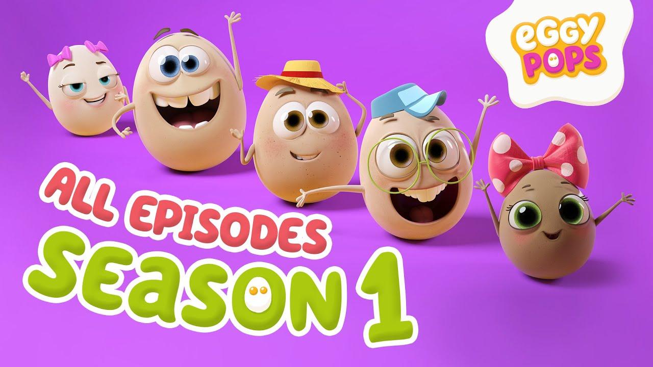 Download EggyPops   Season 1 - All Episodes - Funny Cartoons