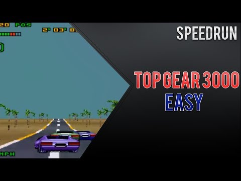 TOP GEAR 3000: Speedrun (Easy) - 1:01:27