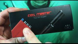 Revue de l'outil Coil Master Coiling Kit V4