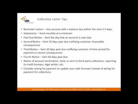 How To Create Effective Collection Letter Templates And Business Credit Policy Documents