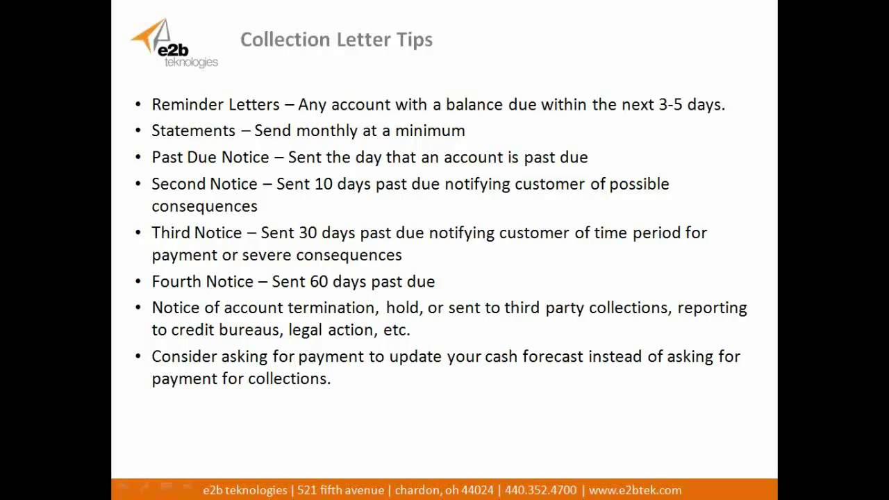 How to create effective collection letter templates and business how to create effective collection letter templates and business credit policy documents youtube fbccfo Gallery