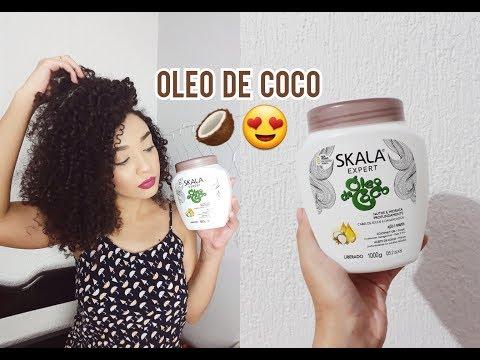 TESTEI A SKALA ÓLEO DE COCO Resenha + Finalização ❤