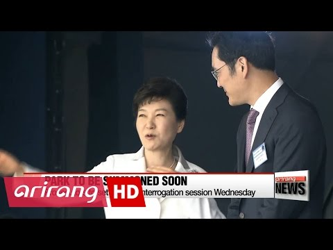 Prosecutors to set date for interrogation of Park Geun-hye