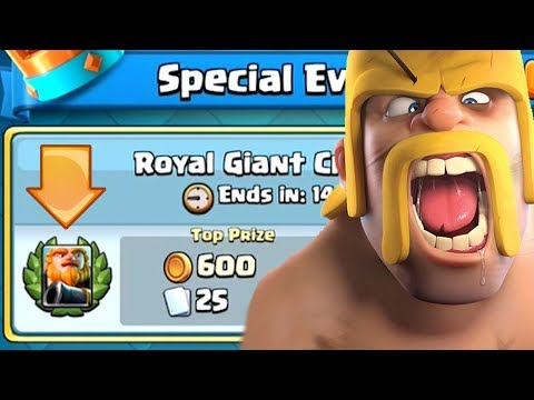 IS THIS SOME KIND OF SICK JOKE CLASH ROYALE? Royal Giant Challenge...