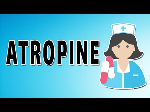 Atropine - Mechanism Of Action, Indications, And Side Effects