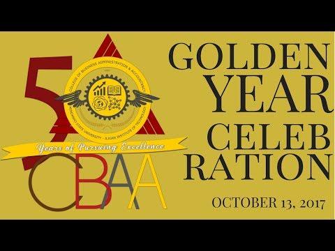 MSU-IIT CBAA Golden Year Celebration 2017