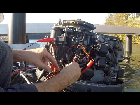 No spark? How to test CDI ignition on an outboard motor