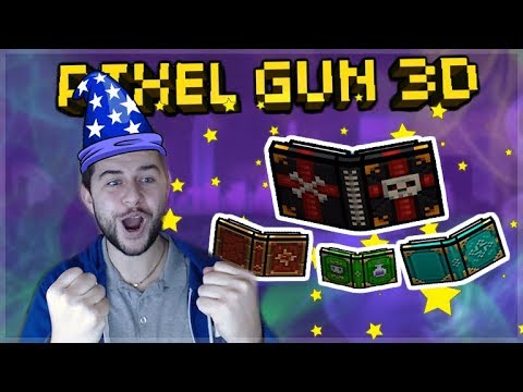 THE SPELL BOOK WIZARD CHALLENGE! ONLY USING SPELL BOOKS! | Pixel Gun 3D