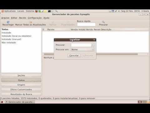 Gerenciando programas no Ubuntu Linux com o Synaptic