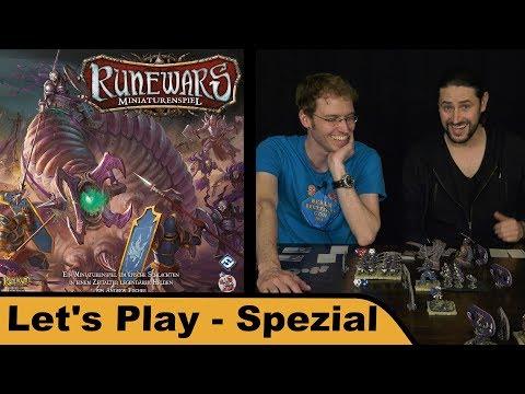 Runewars Miniaturenspiel - Let's Play Spezial mit Denis von DICED