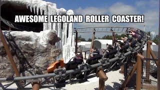 TPR Rides Polar X-Plorer POV at Legoland Billund Denmark 2014