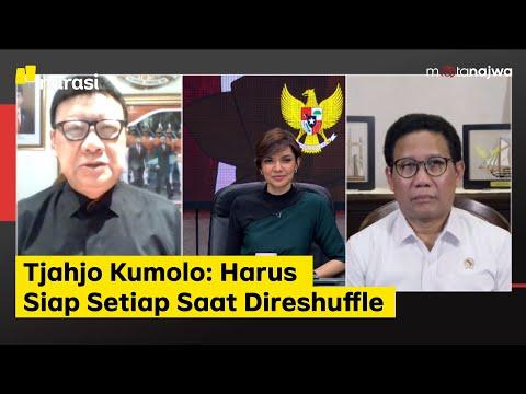 Di Balik Jengkelnya Jokowi - Tjahjo Kumolo: Harus Siap Setiap Saat Direshuffle (part 2)   Mata Najwa