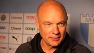 Uwe Rösler efter storsegern mot Kalmar FF