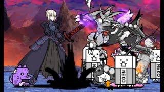 The Battle Cats- Holy War: Saber Alter
