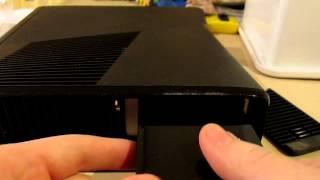 Change / Remove Hard Drive Xbox 360 Slim