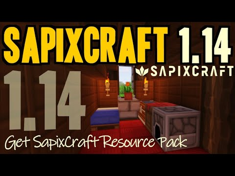 how-to-get-sapixcraft-texture-pack-for-minecraft-1.14---download-sapixcraft-1.14-resource-pack