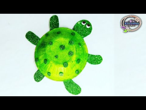 Disposal Bowl Craft Idea | Diy Tortoise Toy At Home |toy Making Idea | Craft For Kids|kb Crafter