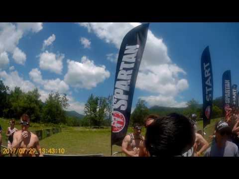Spartan Super race, Asheville, NC         7/29/2017   Video #1