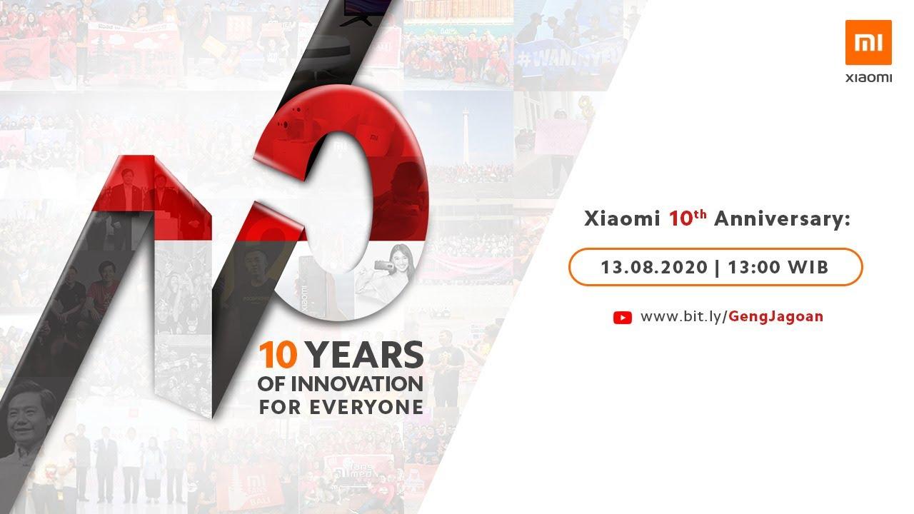 Perayaan 10 Tahun Xiaomi dan Peluncuran Produk-Produk Baru