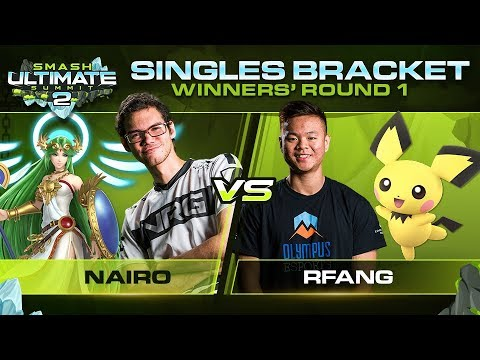 Download Nairo vs RFang - Singles: Winners Round 1 - Ultimate Summit 2 | Palutena vs Pichu