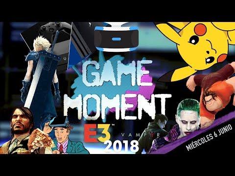 GAME MOMENT ¡MAGAZINE DE NOTICIAS GAMERS EN DIRECTO! Miércoles 6 Junio