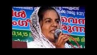 Thirur Kannur Gospel Convention 2014 (Day 3) Sr Sreelekha Mavelikkara Part 1 of 3