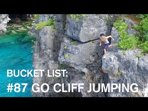 Cliff Jumping in Canadian Paradise | Bucket List #87
