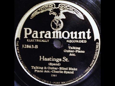 Blind Blake: Hastings St. 1929  (Charlie Spand)
