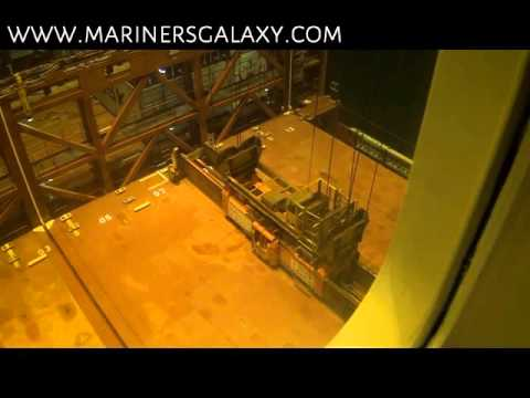 Huge Hatch Cover of Ship Lifted By Big Crane: Must Watch