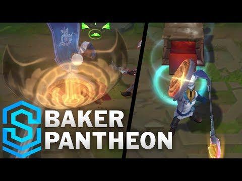Baker Pantheon 2019 Skin Spotlight - League of Legends