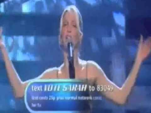 Sarah Harding - Anyone Who Had A Heart (Popstars The Rivals 2002)