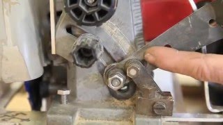 How to modify your circular saw for progressive bevel cutting