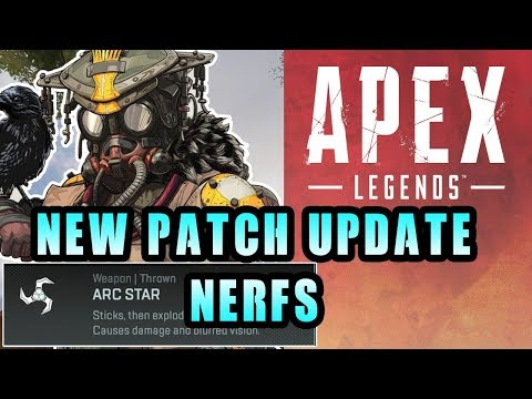 Apex Legends First Update Patch! Nerfs To Bloodhound and Nerfed Arc Star!  New Skin + Icon