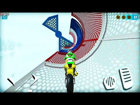 Bike Rider 2020 Motorcycle Stunts Game - Impossible Motor Bike Games - Android GamePlay #2